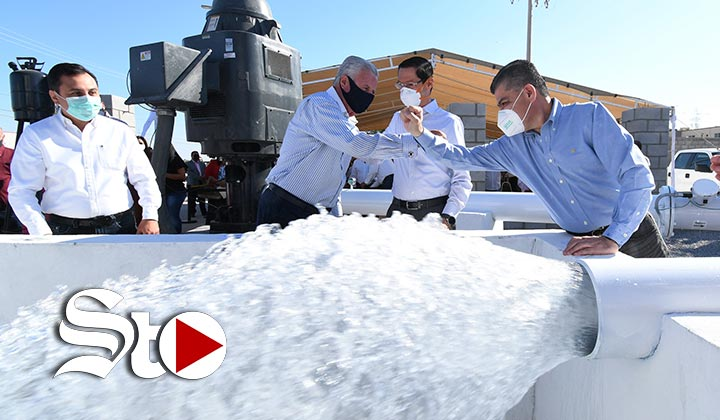 Entregan autoridades nuevo pozo de agua en Torreón