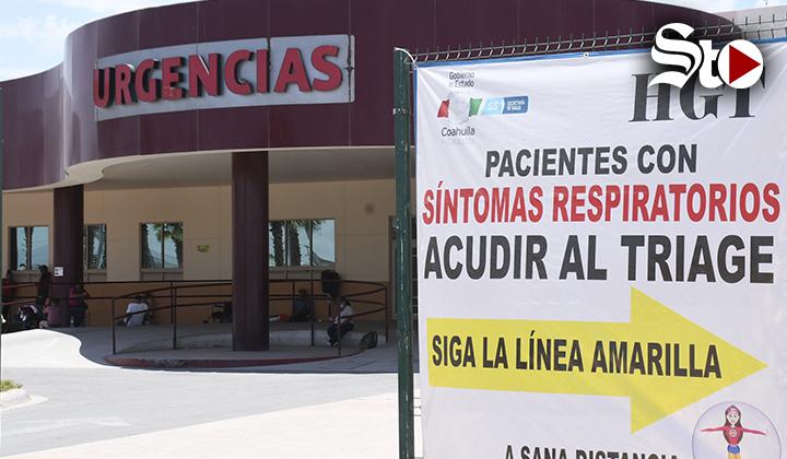 Suma Hospital General de Torreón 16 pacientes con COVID-19