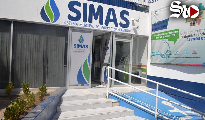 Concluyen estímulos fiscales para deudores del Simas Torreón