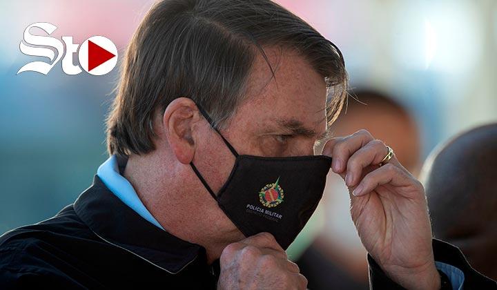 Bolsonaro anuncia que tiene coronavirus pero dice estar 'bien' y