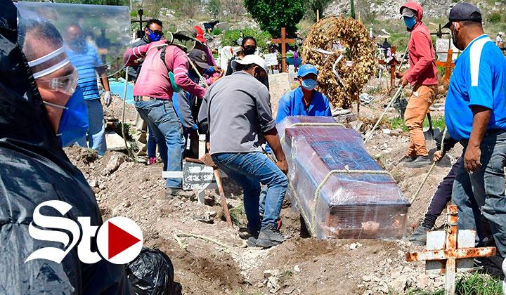 Las afueras de Ciudad de México golpeadas por la pandemia