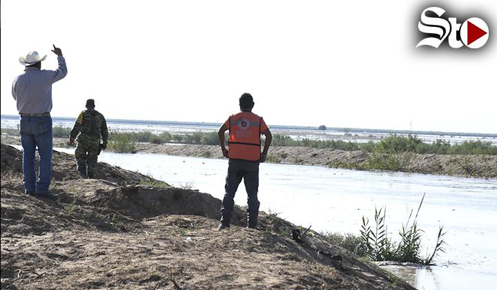 Llega agua del río Aguanaval a poblados de Matamoros y Viesca