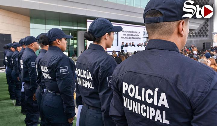 Academia de Policía en Torreón, lista para iniciar capacitación
