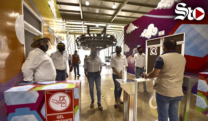 Teleférico de Torreón reanuda actividades