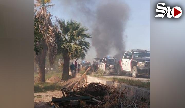 Vecinos del ejido Escuadrón 201 exigen justicia en Matamoros