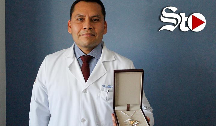 'Me tocó ser médico de una pandemia'
