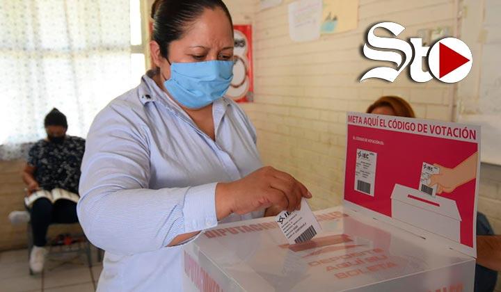 Elección en Coahuila rompe récord de baja participación