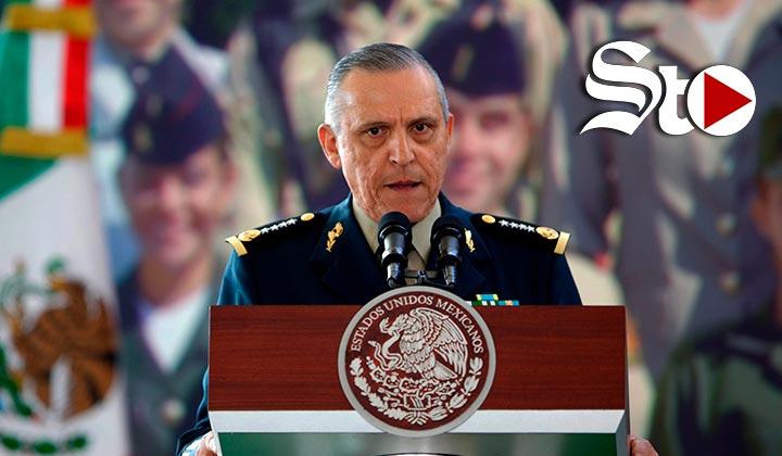 Estados Unidos entrega a México al general Salvador Cienfuegos
