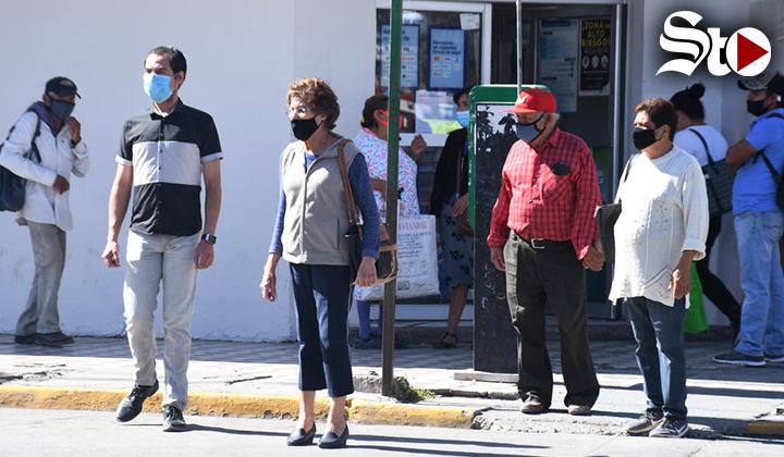 Baja tasa de contagios COVID en La Laguna