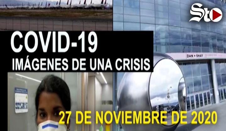 Covid-19 Imágenes de una crisis en el mundo. 27 de noviembre