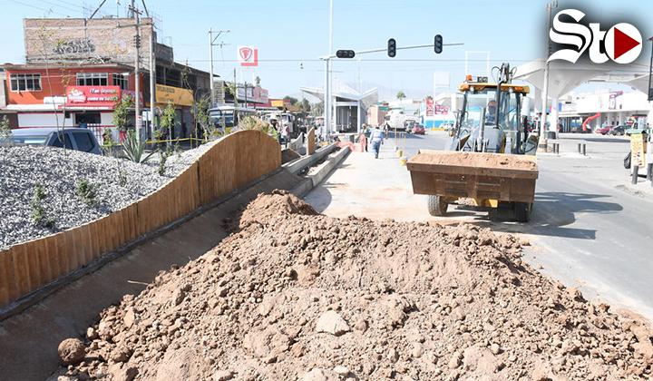 Metrobús Laguna cumplirá mañana 4 años en construcción