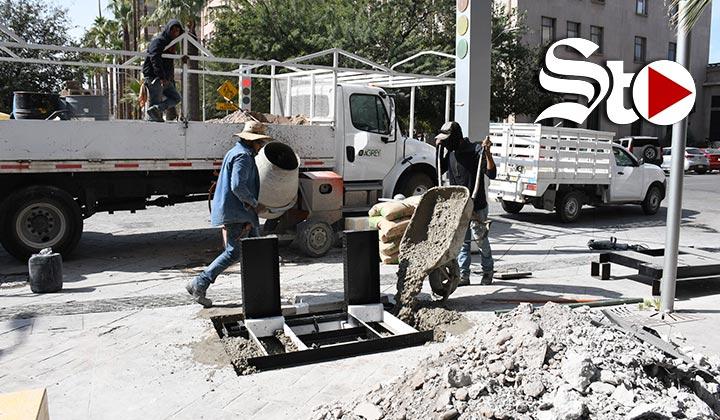 Continuan las remodelaciones en el Paseo Morelos