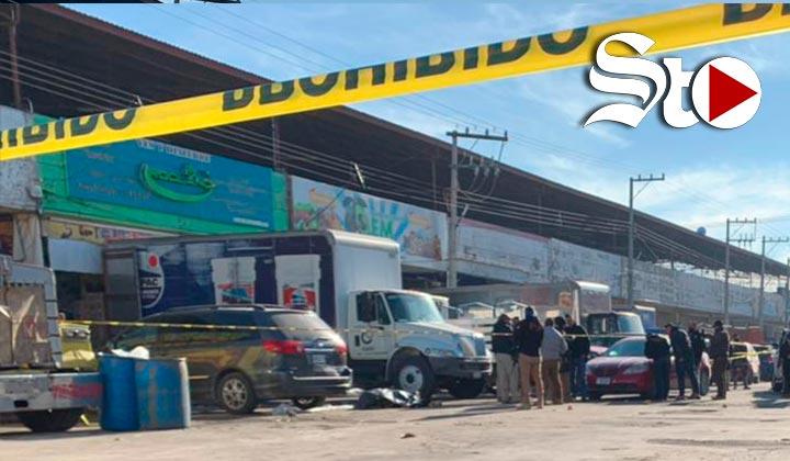 Matan a balazos en Torreón a hombre en el Mercado de Abastos
