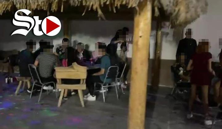 Por COVID-19, dispersan fiestas clandestinas en Torreón