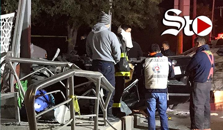 Mueren cinco personas en Torreón tras accidente vial