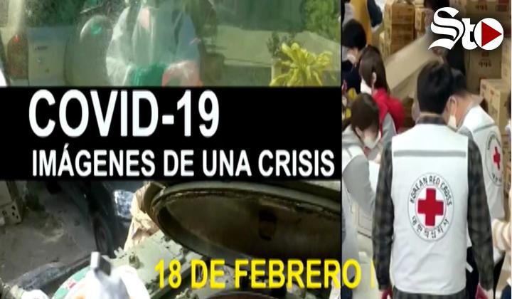 Covid-19 Imágenes de una crisis en el mundo. 18 de febrero