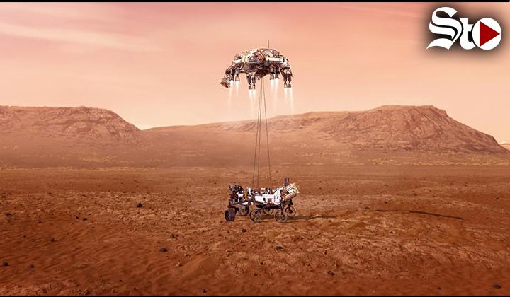 Perseverance aterriza con éxito en Marte y envía imágenes