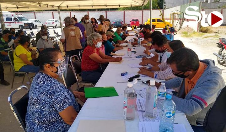 Convocan en Torreón  mayores de 60 y más a vacunarse