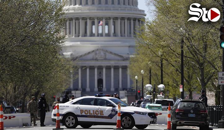 Mueren sospechoso y policía tras atropello en el Capitolio de EU