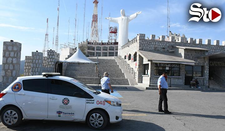 Aplican operativo por Víacrucis en Cerro de las Noas de Torreón