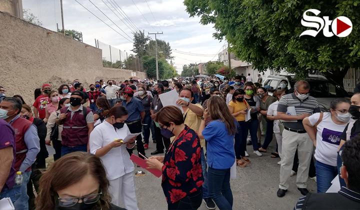 Arranca vacunación del personal de salud pendiente en La Laguna