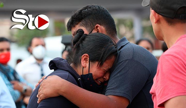 Buscan a familiares en Ciudad de México tras accidente en Metro