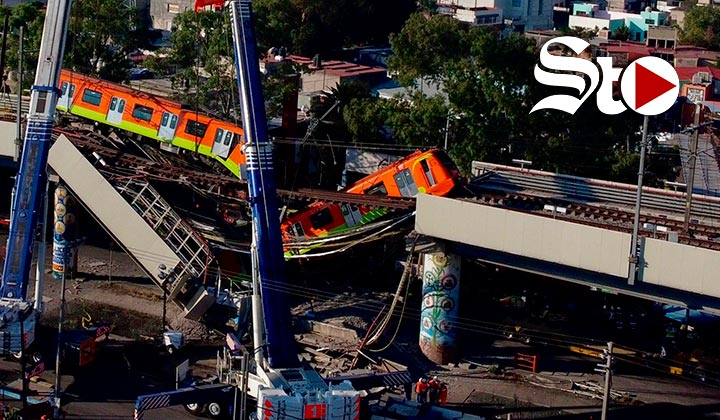 Suman 23 los muertos tras colapso de Línea 12 del Metro en CDMX