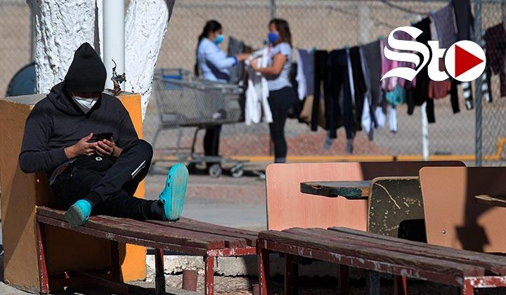 Alto flujo de migrantes continúa en Ciudad Juárez