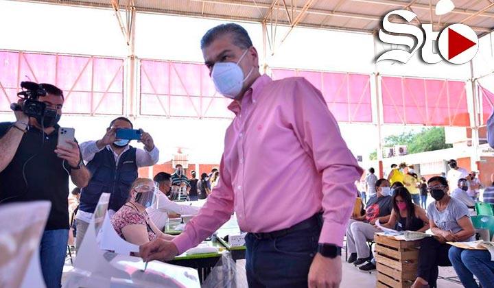 Confía gobernador de Coahuila en superar 50% de participación