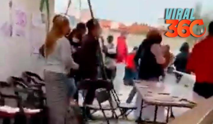 Reportan robo de boletas en casilla de Metepec, Estado de México