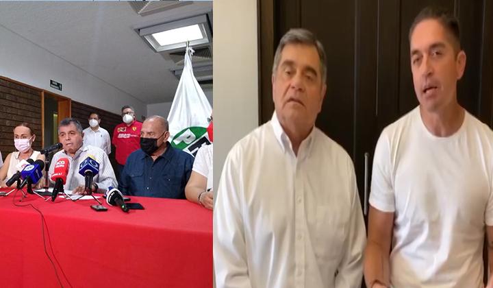Luis Fernando Salazar y Román Cepeda se declaran ganadores
