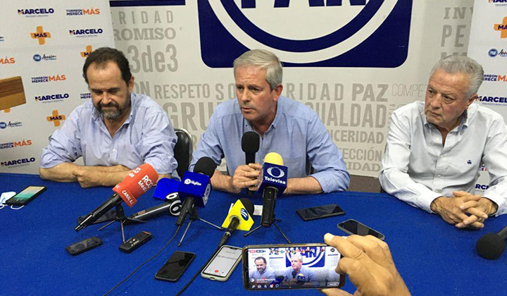 Marcelo Torres reconoce derrota en elección a alcaldía