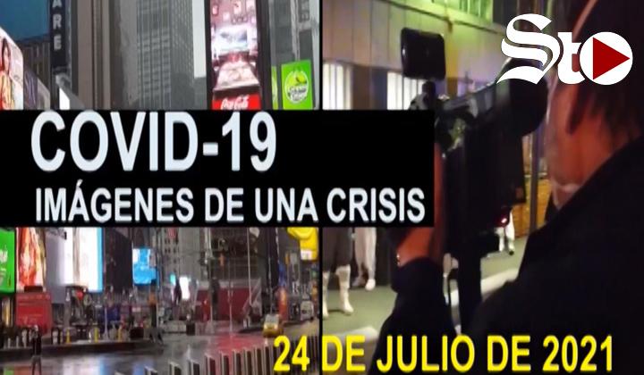 Covid-19 Imágenes de una crisis en el mundo del 24 de julio