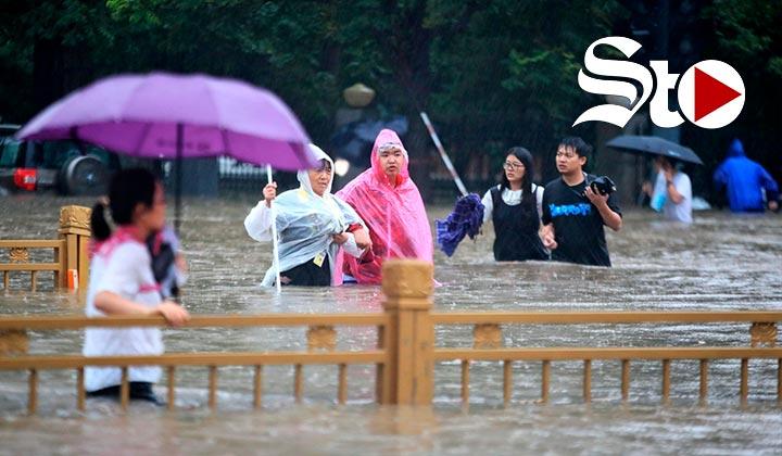 Las extraordinarias lluvias en China dejan al menos 25 muertos