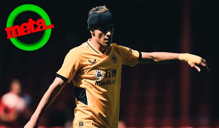 Raúl Jiménez regresa a jugar un partido de futbol