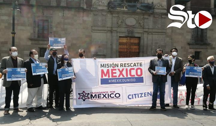 ONG exigen a López Obrador frenar la 'farsa' de la consulta