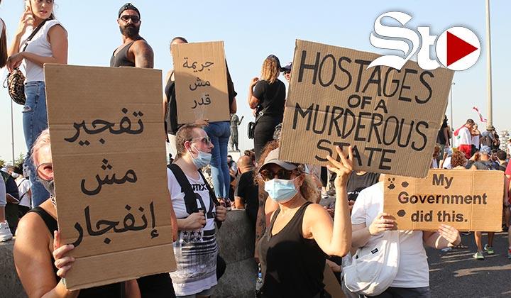 Beirut demanda justicia y honra a sus víctimas