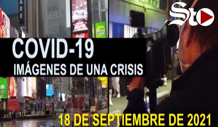 Covid-19 Imágenes de una crisis en el mundo del 18 de septiembre