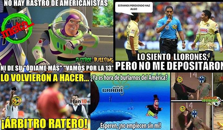 Los mejores memes de la semifinal Monterrey vs América ...