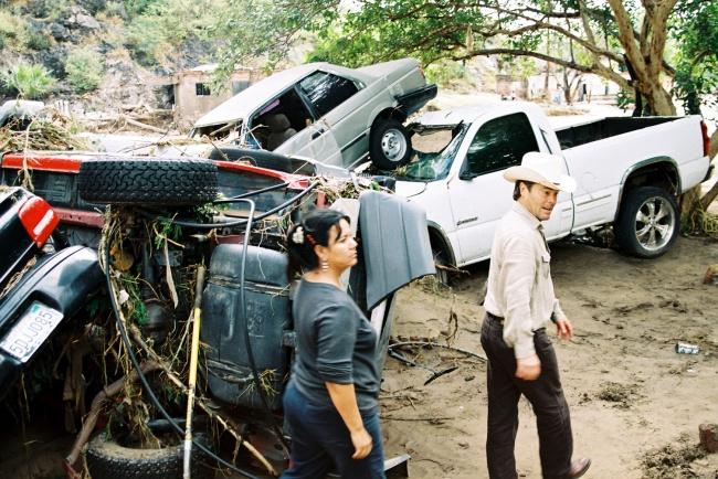 Resultado de imagen para norbert huracan alamos