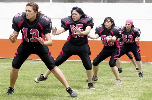 Ayer Presentaron A La Seleccion De Futbol Americano Femenil De La