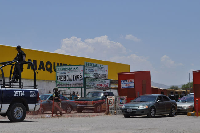 b7f10d312 Desalojan tianguis del auto por amenazas, El Siglo de Torreón