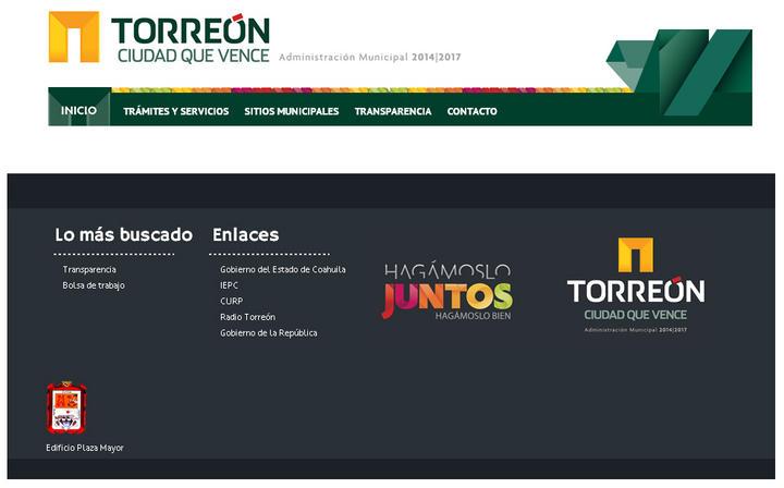Renuevan sitio web del ayuntamiento for Sitio web ministerio del interior