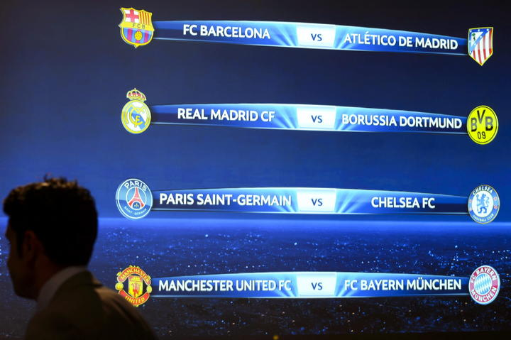 Listos los cuartos de final de champions league for Cuartos final champions 2014