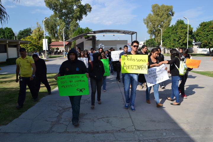 Estudiantes de la laguna se unir n a paro nacional for Piso estudiantes la laguna