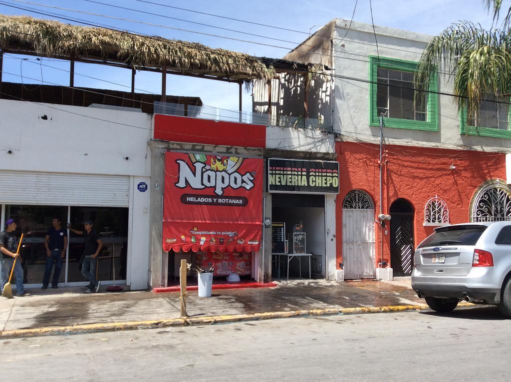 Se Incendia Techo De Restaurante Frente A Plaza Mayor