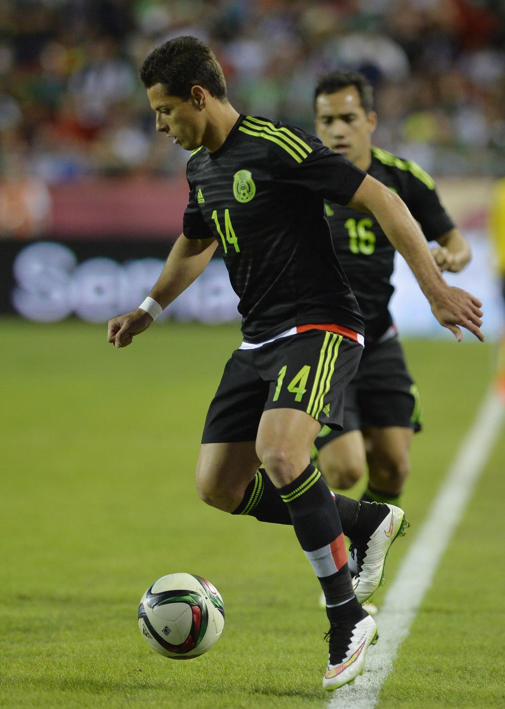 La selección mexicana de futbol utilizará la playera negra en el juego  amistoso que disputará contra el representativo de Brasil el próximo 7 de  junio 58f7b88769836