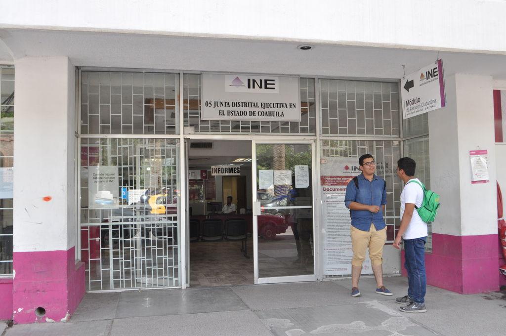 Cerrarán 2 Días Módulos Del Ine El Siglo De Torreón