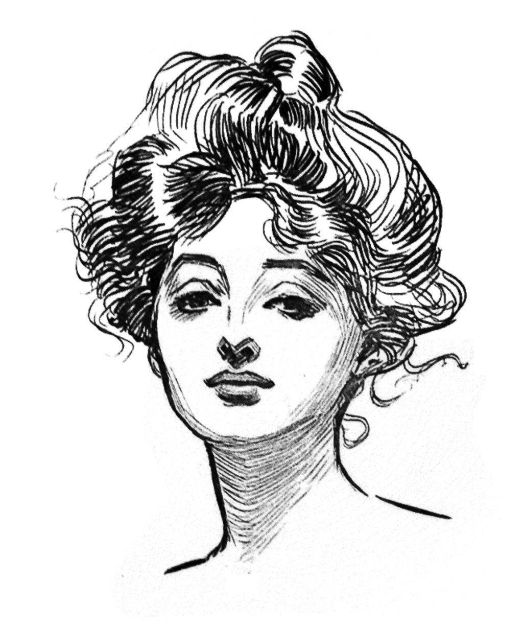 Historia del corte de cabello femenino
