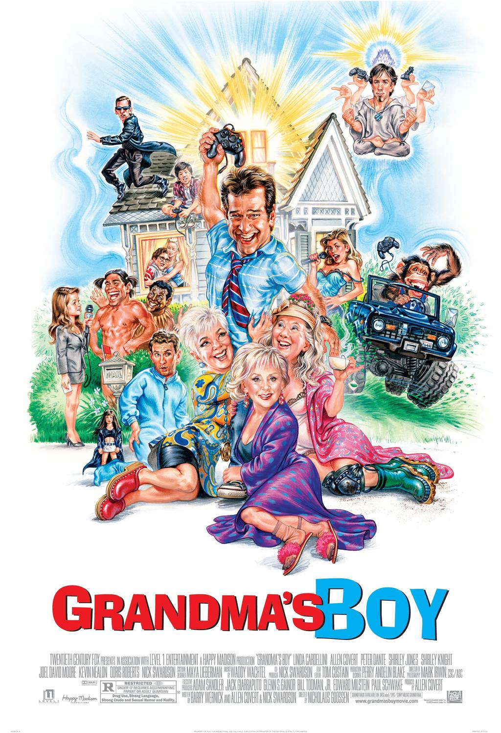 Grandma s boy nude scene — img 4